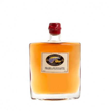 Liqueur de fraise de plougastel - 50 cl