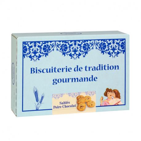Galettes Poire Chocolat -Boîte carton 300g