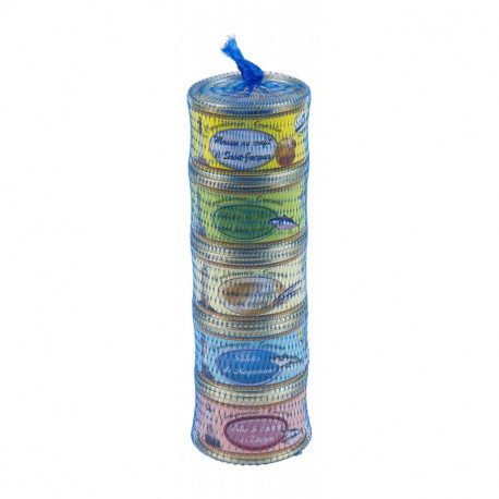 Lot de 5 rillettes de poissons 65 g