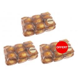 2 kilos de madeleines achetés, le 3 ème kilo offert