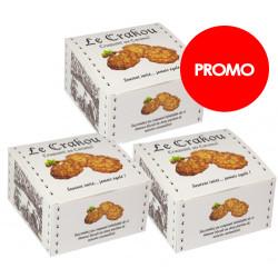 PROMO : 3 boîtes de Crakou - Caramel