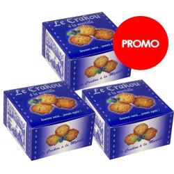 PROMO : 3 boîtes de Crakou - Myrtille