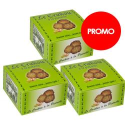PROMO : 3 boîtes de Crakou - Pistache