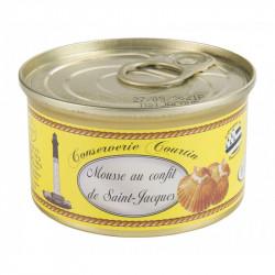 Mousse au confit de Saint-Jacques 130 g