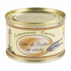 Crème de sardines au whisky 60 g